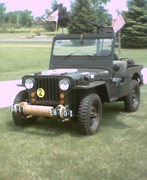 1944 Parade  Army Jeep