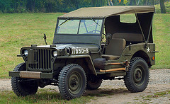 Restored 1944 Willys Jeep!