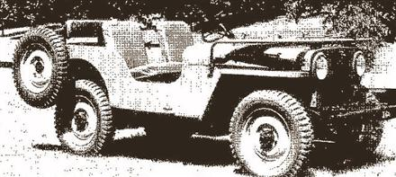 Willys Jeep CJ2!
