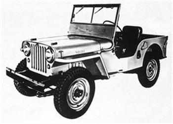 1945 Jeep CJ2A!