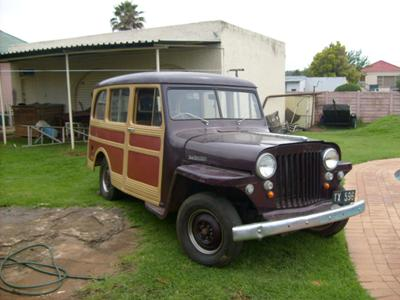 Loius' 1947 Willys Wagon