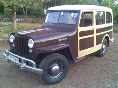 1947 2wd Willys Wagon!