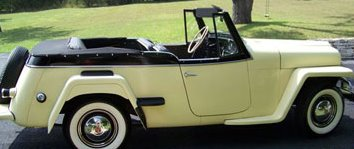 1950 Willys Jeepster!