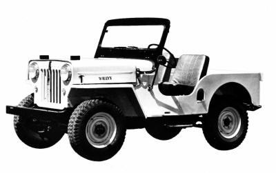 1953 Jeep CJ3B!