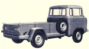Jeep Fc 170 Flat Bed Truck http://www.4-the-love-of-jeeps.com/jeep-forward-control.html