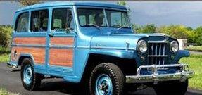 Restored 1960 Willys Jeep Station Wagon