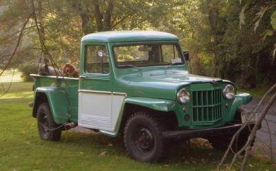 1962 willys pickup 48 years young. Black Bedroom Furniture Sets. Home Design Ideas