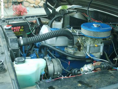 1963 230 Tornado Engine