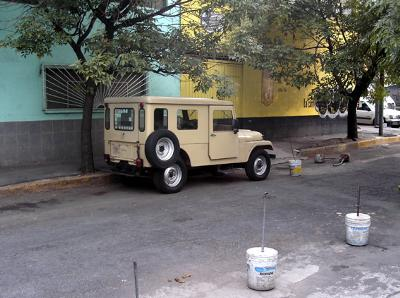 Adan's 1965 CJ6 !