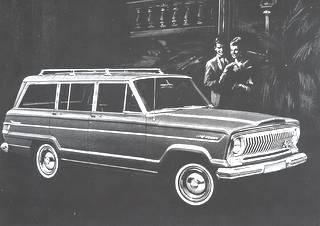 1965 Jeep Wagoneer!