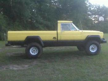 Jonathon's 1970 Jeep Pickup