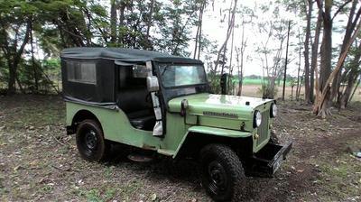 1972 Mahindra CJ4