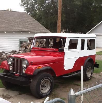 Jeep Cj7 Parts >> The Jeep CJ6: Long At Last!