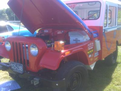 1976 Electric Jeep. This is a 1976 factory original DJ-5E electric postal
