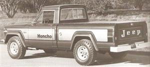 1977 Jeep Honcho 4x4 Truck!