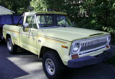 1978 Jeep J10 Pickup