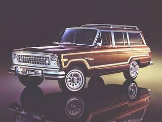 1978 Jeep Wagoneer Limited!