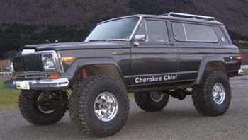 1980 Jeep Cherokee Chief!