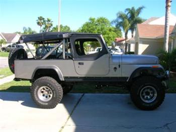 Hap's Jeep Scrambler CJ8