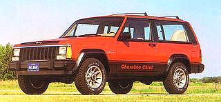 Compare this1984 Jeep Cherokee to the Jeep Commander!