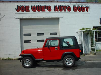 Before I lettered Jeep and put the Micky Thompsons on