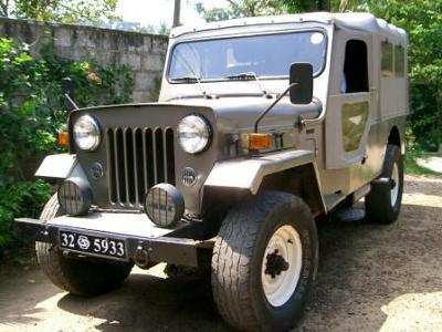 The Mahindra Jeep Of India