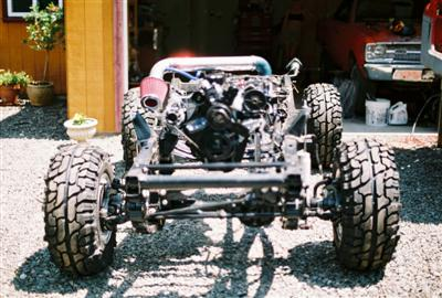 Jeep Project 91 YJ Frame and Engine