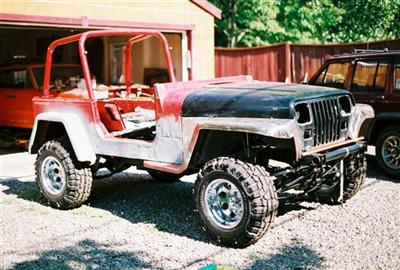 Jeep Project 91 YJ/Willys Blend Right Side View 6