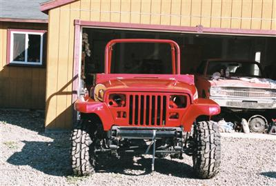 Jeep Project 91 YJ/Willys Edward 6 Front