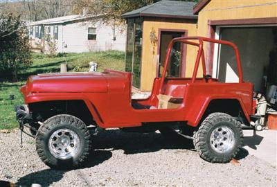 Project Jeep 91 YJ/Willys Edward 7 Side