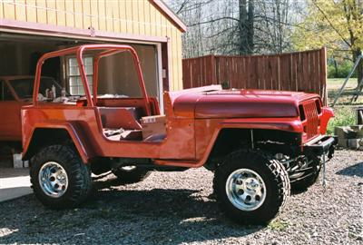 Project Jeep 91 YJ/Willys Edward 8 Side