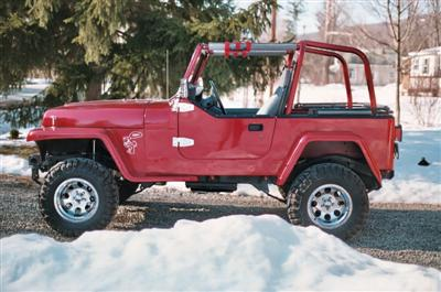 1991 YJ Willys Project Finished Ed Bentley