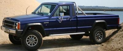 Jeep Comanche (File Photo)