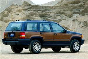 1993 Jeep Grand Cherokee Wagoneer!