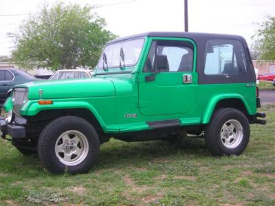 1994 Wrangler YJ Sold on Ebay