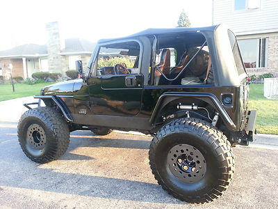 1998 Jeep Wrangler Turbo 4 8l Stroked Engine 38 Inch Tires