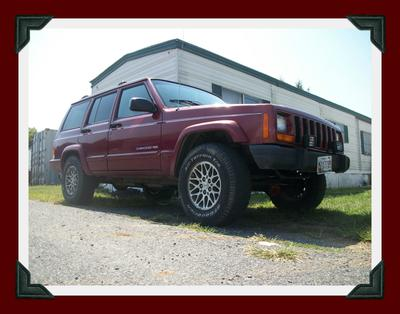 1998 Jeep Cherokee Big Red Mike C2.0