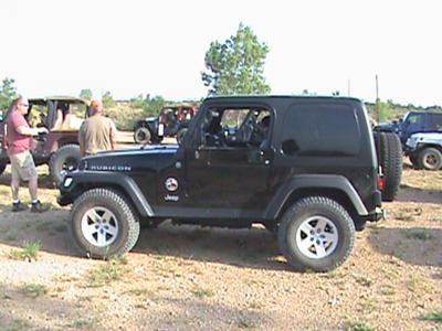 Andrew's '04 Black Rubicon!