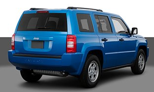 2008 Jeep Patriot Rearview!