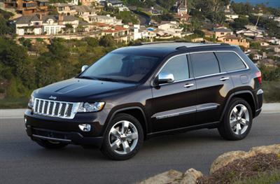 2011 Jeep Grand Cherokee Overland Summit