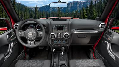 Jeep Automatic Transmission 2011 Wrangler Interior!
