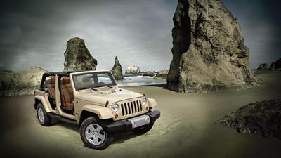 2012 Jeep Wrangler Unlimited Doorless and Topless