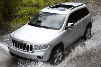 2013 Jeep Grand Cherokee Top View