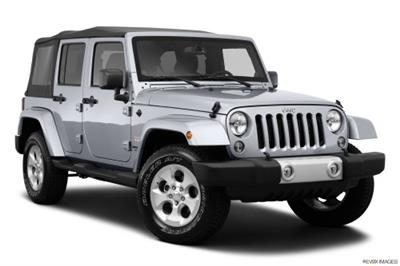 2014 Jeep Wrangler Unlimited Silver