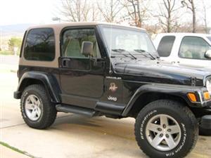 Boo's Wrangler Jeep TJ!