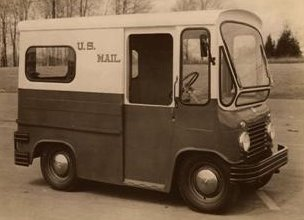 Postal Jeep FJ3 Fleetvan