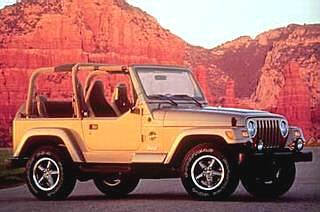 1999 Jeep Wrangler TJ Sahara!