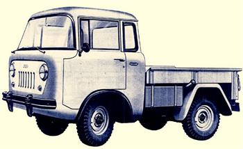 1957 Jeep Forward Control FC-150!