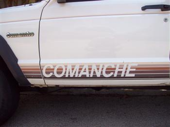 Jeep Comanche Side Decal!