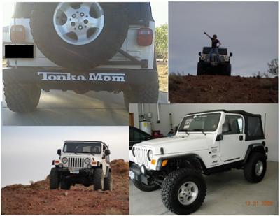 Julies 2003 Jeep TJ